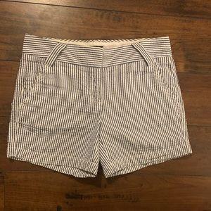J.Crew seer sucker shorts